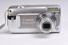 Canon Powershot A470 Compact Digital Camera Uses AA Batteries with SD Card