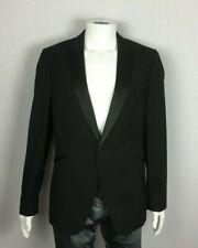 New Topman Size 42 Black Dinner Tuxedo Blazer Jacket
