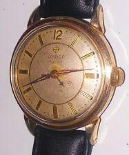 Vintage Zodiac Autographic Power Reserve Swiss Watch Original Dial Runs Great!