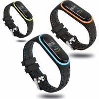 Watch Waschbar Sport Armband Silikon Gurtband Ersatz For Xiaomi Mi Band3 4