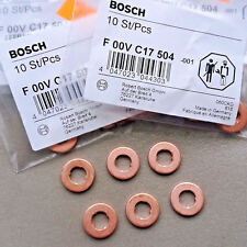 F00VC17504 BOSCH diesel fuel injection nozzle holder gasket washer/injector shim