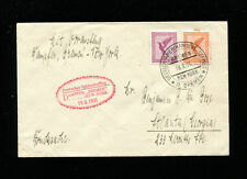 Catapult Cover 1931 Grau K83d Germany Post to Georgia USA Seapost Cancel