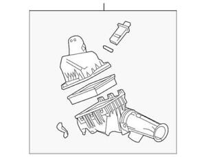 Genuine Ford 06-07 Fusion Milan 3.0L Air Cleaner Intake Assembly 6E5Z-9600-GA