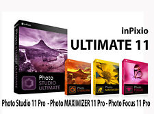 More details for inpixio photo studio 11 ultimate, full version 11, delivered today! no disks.