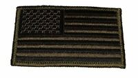 UNITED STATES US FLAG PATCH SUBDUED OLIVE DRAB OD GREEN PATRIOTIC AMERICAN