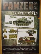 Deutsche Panzer Farbprofile Modellbau Tarnanstriche Erkennungszeichen 1935-45