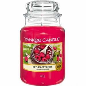Yankee Candle Large Jar 623g Red Raspberry Brand New