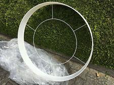 Große runde Designer Leuchte zum Selbstbau 110cm LED Wagenrad Rad rund