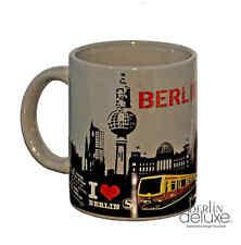 Berlin TASSE GRIS NEUF Pot de café à anse S-Bahn Tour télévision Souvenirs Mug