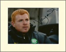 NEIL LENNON CELTIC FC PP 8x10 MOUNTED SIGNED AUTOGRAPH PHOTO