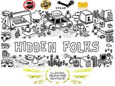Hidden Folks PC Digital Steam Key - Region Free