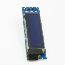 "IIC I2C 0.91""128x32 Blue OLED LCD Display Module Fit AVR PIC Arduino Uno R3"