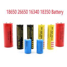 Reemplazar batería 18650 26650 16340 18350 Batería recargable de Li-Ion Batería 3.7V