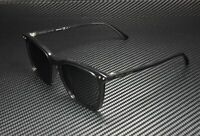 BOTTEGA VENETA BV0251SA 002 Square Shiny Grey Polarized 53 mm Men's Sunglasses