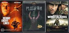 DVD - R4 - Platoon - Behind Enemy Lines - Windtalkers