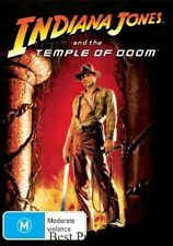 INDIANA JONES And The Temple Of Doom DVD TOP 1000 HARRISON FORD BRAND NEW R4