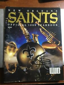 New Orleans Saints Official 1988 Yearbook