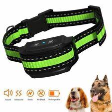 Dog Training Collar Barking Control Collar Beep Vibration No Harm Shock Bark