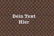 Tortenaufleger louis vuitton LV con texto bolso decorativas bioenvases tortenbild Designer