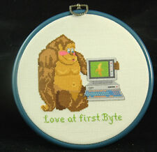 Love At First Byte Needle Work Picture
