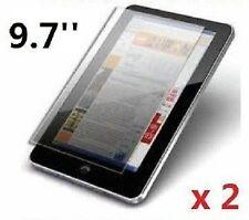 "2 X profesional Protector De Pantalla De 9,7 ""Pulgadas Android Tablet Pc Epad Apad Reino Unido"