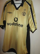 Manchester United 2001-2002 Centenary Reversible Football Shirt Size XXL /24551