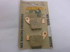 MIN0 BRAKE PADS HONDA CR CRF 125 -450 2002 GOLD SINTERED SERIES EBC REF FA346 T