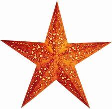 STERN PAPIER FALTSTERN Starlightz MONO orange ca. 60 cm Leuchtstern