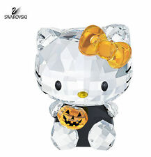 NEW IN BOX SWAROVSKI RETIRED CRYSTAL HELLO KITTY HALLOWEEN #1191918