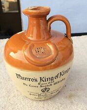 Vintage Rare Old Munro's King Of Kings De Luxe Scotch Empty Whisky Jar,Scotland