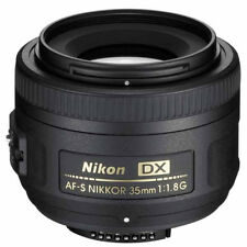New Nikon AF-S 35mm f1.8G DX