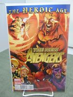 New Avengers #1 2nd Print Variant Cover Marvel Comics vf/nm CB2213