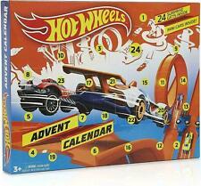 Hot Wheels Advent Calendar 24 Toys Suprises Mini Cars Bikes Stickers Christmas
