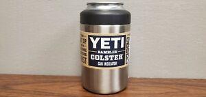 Yeti 12 oz Rambler Colster 2.0 Can Insulator Stainless Vacuum Insulated New