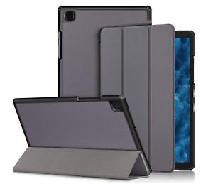 Xuanbeier Coque pour Samsung Galaxy Tab A7 10.4 Pouces SM-T500/T505/T507 Gris