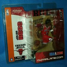 McFarlane NBA Basketball Series 4 Jalen Rose Chicago Bulls Action Figure