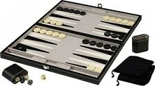 Mainstreet Classics 18Inch Backgammon Board Game Set, New, Free Shipping