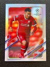 2020-21 Topps Chrome UEFA Champions League Refractors Roberto Firmino Liverpool