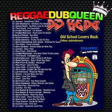 DJ Redz - Old School Lovers Rock Mixtape. Reggae Mix CD.