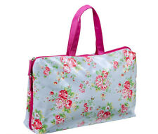 Royal Covent Garden Chic Holdall Cosmetics Makeup Bag Case ~ Oil Cloth Style
