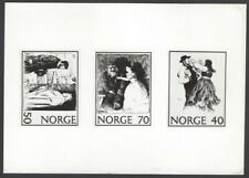Norway #579-81 1971 The Farmer & the Woman composite photographic proof