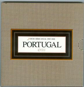 Portugal  Euro-Kursmünzensatz 2008 (3,88 Euro)  stempelglanz