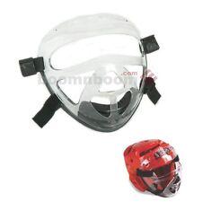 New Macho Dyna Karate Taekwondo Face Shield Clear Cage Mask Sparring Gear Guard
