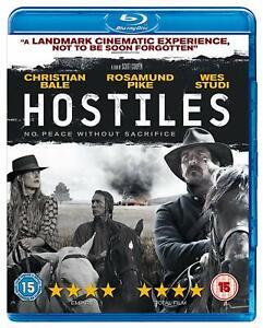 Hostiles (Rosamund Pike, Christian Bale, Wes Studi) New Region B Blu-ray