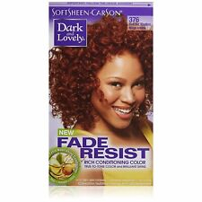 Dark and Lovely Fade Resistant Rich Conditioning Color, No. 376, Red Hot...
