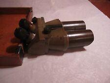 Vintage WWII dkl Jos. Schneider & Co., Kreuznach German Flak Binoculars 10x80