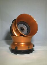 Copper Color Aluminium NAB Hub adapters for Studer Revox  MADE IN USA G/B
