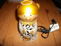 "Holiday Angel Metal Electric Luminary Light - Approx. 9"" Tall x 4-1/2"" Wide"