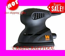 WEN Palm Sander 1-Amp Electric Detailing Angled Tip Lightweight Design Black NEW