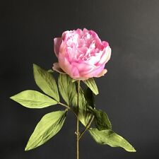 Individual Pink Peonies, Artificial Luxury Faux Silk Light Pink Peony Flowers